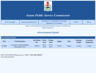 apsconline.gov.in screenshot