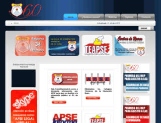 apse.or.cr screenshot