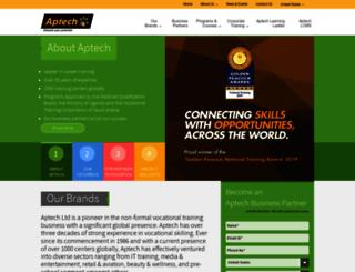aptech-globaltraining.com screenshot