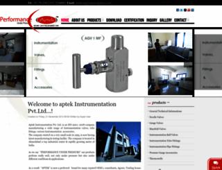 aptekengineers.com screenshot