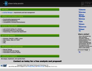 aptest.com screenshot