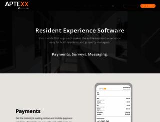 aptexx.com screenshot