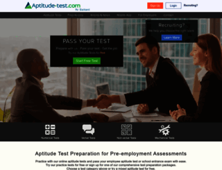 aptitude-test.com screenshot