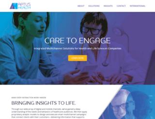aptushealth.com screenshot