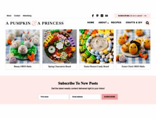 apumpkinandaprincess.com screenshot