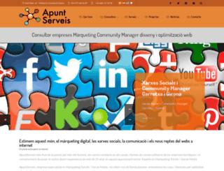 apuntserveis.com screenshot