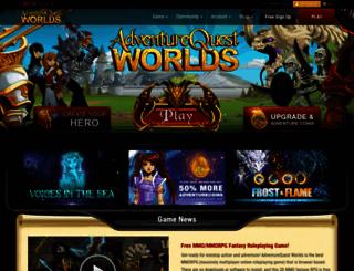 aq.com screenshot