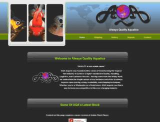 aqaimports.com screenshot