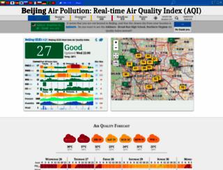 aqicn.org screenshot
