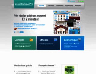 aqua-bievre.votreboutiquepro.com screenshot