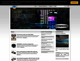 aqua-computer.de screenshot