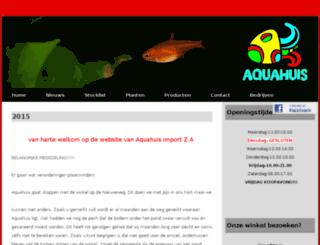 aqua-huis.nl screenshot