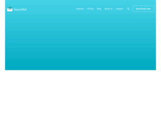 aqua-mail.com screenshot