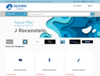 aqua-man.com screenshot