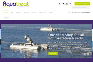 aqua-treat.co.uk screenshot