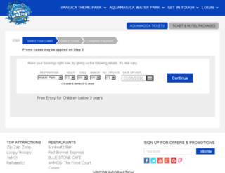 aqua.adlabsimagica.com screenshot