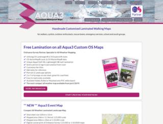 aqua3.com screenshot