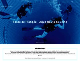 aqua92.ucpa.com screenshot