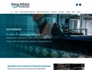 aquaadvice.co.uk screenshot