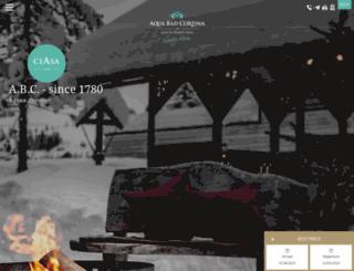aquabadcortina.com screenshot