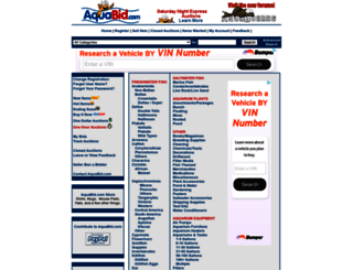 aquabid.com screenshot