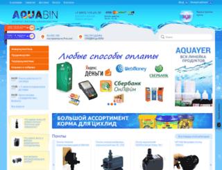 aquabin.ru screenshot