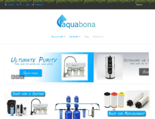 aquabona.ca screenshot