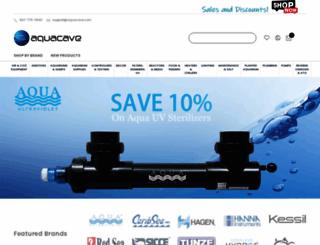aquacave.com screenshot