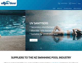 aquaclear.co.nz screenshot