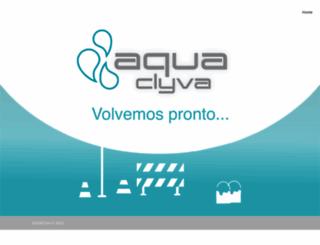 aquaclyva.com.mx screenshot