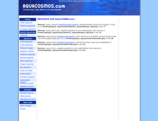 aquacosmos.com screenshot