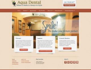 aquadental.net screenshot