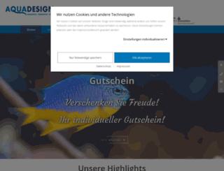 aquadesign.de screenshot