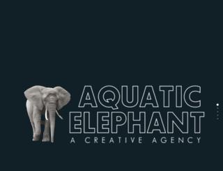 aquaelephant.com screenshot