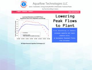 aquaflowtech.com screenshot