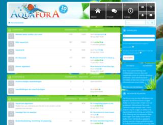 aquafora.nl screenshot
