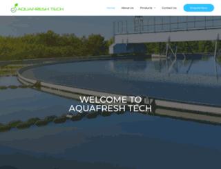aquafreshrosystems.in screenshot