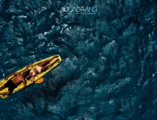 aquagrand.gr screenshot