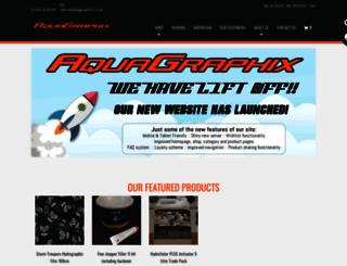 aquagraphix.co.uk screenshot