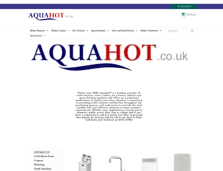 aquahot.co.uk screenshot