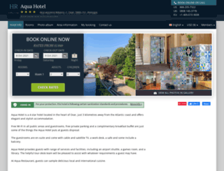aquahotel-ovar.h-rez.com screenshot