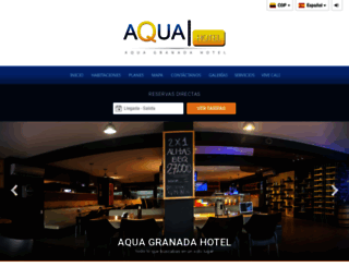 aquahotelcali.co screenshot
