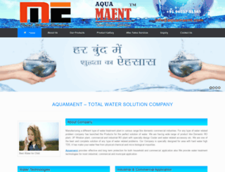 aquamaent.com screenshot