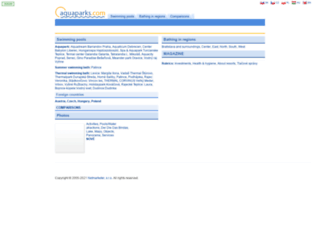 aquaparks.com screenshot