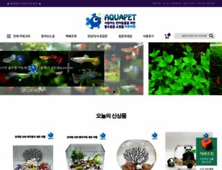 aquapet.co.kr screenshot