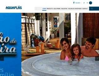 aquaplas.com.br screenshot