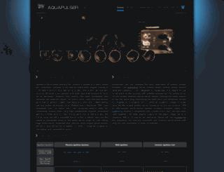 aquapulser.com screenshot