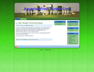 aquarian-free-thinker.com screenshot