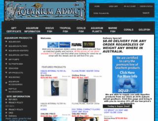 aquarium-addict-shop.com screenshot