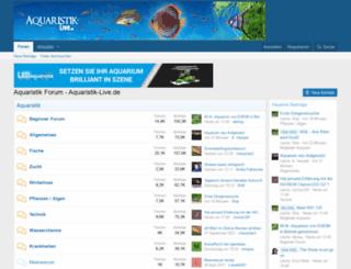 aquarium-fotos.de screenshot